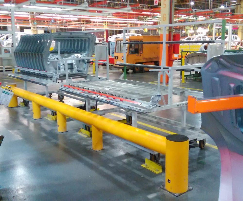 Barrière de protection flexible - Réalisation (2) - Barrieredeprotection
