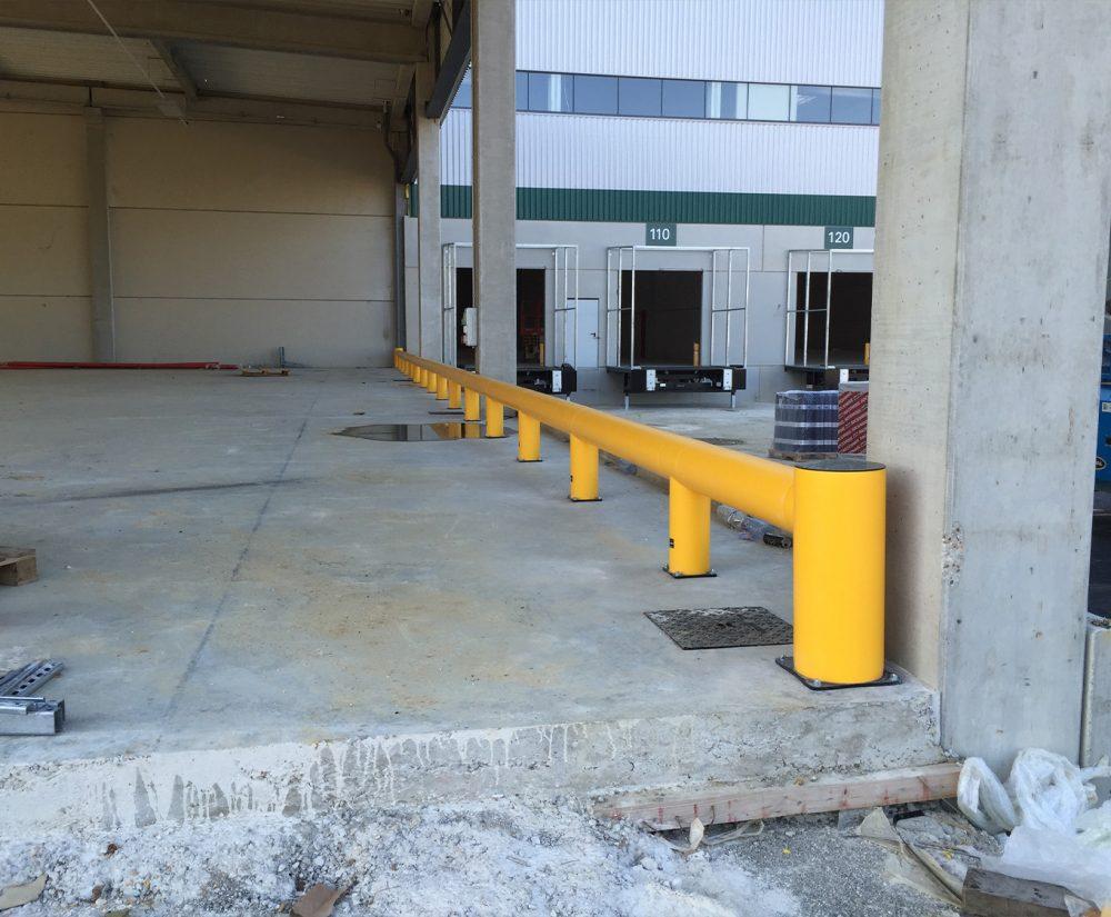 Barrière de protection flexible - Réalisation (3) - Barrieredeprotection